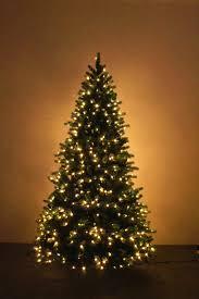 simple decoration pre lit tree 7 5 ft led california