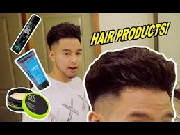 fungbros haircut top hair styling products i m using youtube
