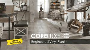 Lumber Liquidators Laminate Flooring Reviews Engineered Vinyl Plank Evp Flooring Youtube