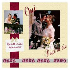 scrapbooking mariage souvenir du mariage album de pages de scrap galerie scrapbooking