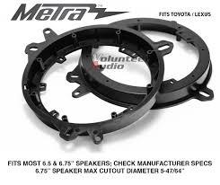 lexus speaker warranty metra 82 8148 lexus u0026amp toyota models 6 u0026 034 to 6 75 front