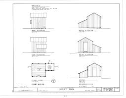 floor plans and elevations of houses file pump house elevations floor plan and section dudley farm