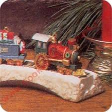 1991 claus and co rr locomotive hallmark ornament