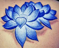 Blue Lotus Flower Meaning - lotus flower tattoos high quality photos and flash designs of