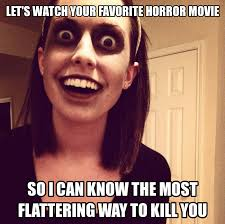 Horror Movie Memes - horror movie meme by scarymovie13 on deviantart
