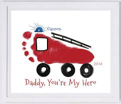 baby footprint ideas firetruck footprint wall your child s actual prints