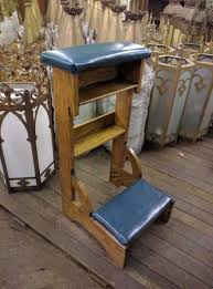 Prayer Bench For Sale Prie Dieu Kneelers Used Church Items