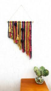 Wall Decor Interesting Wall Decoration by Best 25 Yarn Wall Art Ideas On Pinterest Yarn Wall Hanging