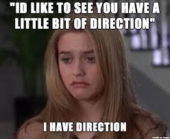 Clueless Meme - clueless direction meme on imgur