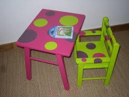 bureau bebe fille table et fauteuil pour fille
