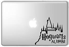 hogwarts alumni bumper sticker hogwarts alumni 2 harry potter apple macbook laptop