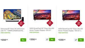 smart tv on sale black friday sam u0027s club black friday sale november 12 top 4k tv deals