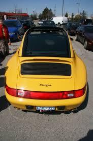 yellow porsche 911 yellow porsche 911 993 targa 4 1 madwhips