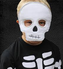 Skeleton Mask Halloween Spooktacular Blow Out Ith Skeleton Mask By Bugabootwo