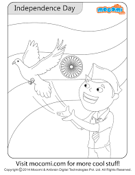 independence day colouring page colouring pages for kids mocomi