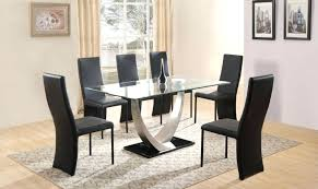 Black Dining Room Sets For Cheap Dining Table Round Dining Room Table With 6 Chairs Round