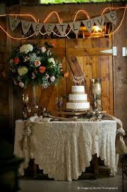 Wedding Cake Table Beautiful Wedding Cake Display On A Sequined Table Cloth Burritt