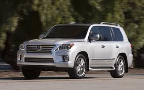 lexus truck 2006 2013 body on frame suvs truck trend