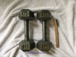 Remove Rust From Metal Furniture by How To Remove Rust From Dumbbells Save Your Cash