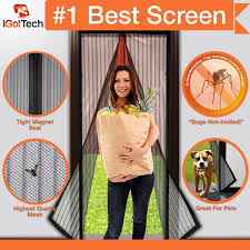 Magnetic Fly Screen For French Doors by Best Magnetic Screen Door Reviews Of 2017 At Topproducts Com