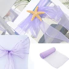 aliexpress com buy chair cover sashes organza material 10 pcs