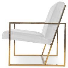 modern brass and velvet arm chair modshop modshop