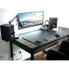 Wooden Computer Desk Plans Custom Gaming Computer Desk Plans Love Wooden Whats Favorite Chair