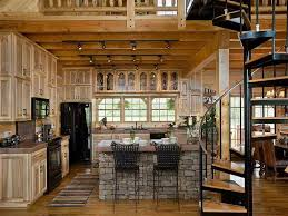 How To Smartly Organize Your Log Cabin Kitchen Designs Log Cabin - Cabin kitchen cabinets