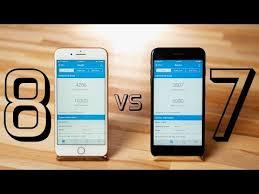 video iphone 8 plus a11 bionic versus iphone 7 plus a10 fusion