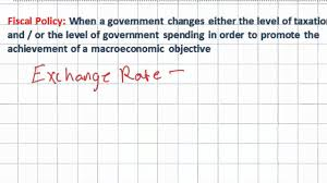 introduction to fiscal policy expansionary vs contractionary