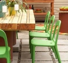 Patio Plastic Chairs by Plastic Patio Furniture U2039 Decor Love