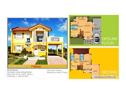 Camella Homes Drina Floor Plan by Camella Talamban House And Lot Fatima Model Cebuclassifieds