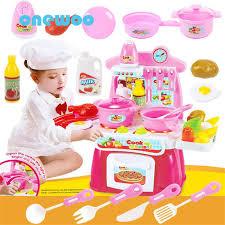 cuisine fille jouet simulation électronique sound light cuisine jouets fille jouer à