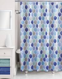 essential home twiggy hexagon shower curtain