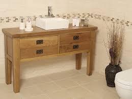 Kohler Poplin Vanity 50 Off Traditional Oak Vanity Unit With Drawers Bathroom Valencia