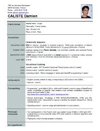 current resume format resume format new job good resume format examples resume format