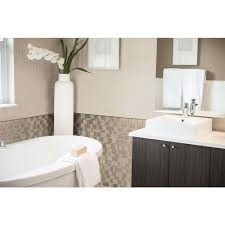 How To Install A Mosaic Tile Backsplash In The Kitchen Smart Tiles Tango Titane 11 55 In W X 9 64 In H Peel And Stick