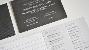 gala luxury invitations