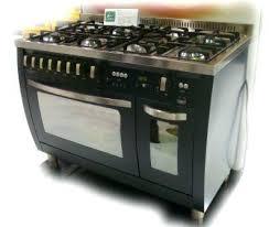 piano en cuisine piano cuisine electrique piano de cuisson lofra anthracite 120 cm