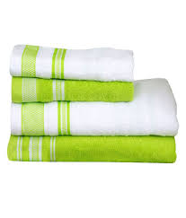 Decorative Hand Towels For Powder Room White And Green Bath Towels Towel Gallery