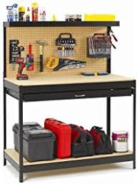 Tool Bench For Garage Workbenches Amazon Com Building Supplies Material Handling