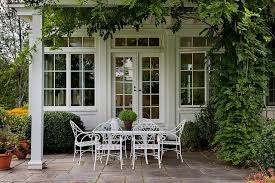 Farmhouse Patio Furniture French Country Style Patio Furniture Houzz