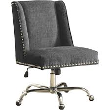 Swivel Desk Chair Without Wheels by Upholstered Office Chair On Wheels Home Chair Decoration