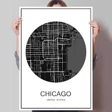 Map Chicago by Online Get Cheap Map Chicago Aliexpress Com Alibaba Group