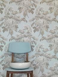 Wallpaper Home Decoration Duck Egg Vintage Blossoms Wallpaper Walls Republic