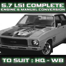 holden hq hj hx hz wb v8 ls1 manual engine u0026 gearbox conversion