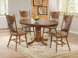 Rustic Oval Dining Table Remarkable Brown Rustic Wood Oval Dining Table Set With 6 Chairs
