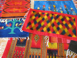 Zapotec Rug Paintings Teotitlan Del Valle Surrounded By Rugs And Textiles Tanama Tales