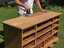 how to refinish a desk new finish for old furniture sanding the wood after stripping the