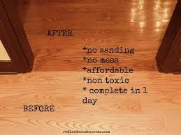 Hardwood Floor Refinishing Seattle No Sanding Non Toxic Wood Floor Refinishing Redhead Can Decorate
